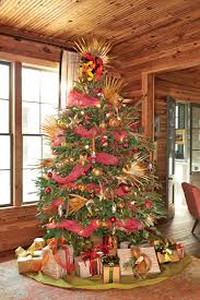 christmas tree fabulously festive christmas tree decorations southern living