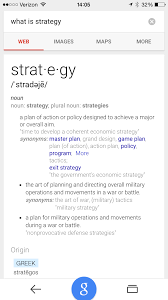 notes on strategy for early stage technology startups