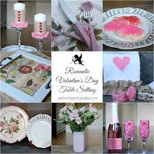Valentine Dinner Table Decorations Romantic Valentine U0027s Day Table Setting With Hometalk Com