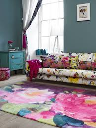 Modern Floral Rug Rugs Bluebellgray Launches Digital Wool Rug Range