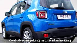 jeep renegade blue jeep renegade limited 1 6l multijet 2wd fpb07097 sierra blue