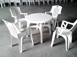 plastic round table and chairs excellent plastic outdoor dining table and chairs 5538 with regard