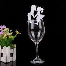 dã coration table mariage par 5 carte de verre marque place forme de papillon décoration de