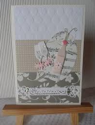 carte de fã licitations mariage carte de félicitations de mariage avec de mariés et tulle