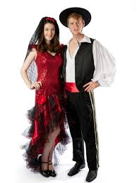 couple costumes for halloween 2014 spanish flamenco couple costumes creative costumes