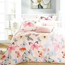 Duvet Meaning Luxury Butterfly Queen King Size Bedding Sets Pink Quilt Duvet