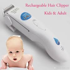 kemei rechargeable kids and hair clippers trimmer adjustable