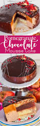 pomegranate chocolate mousse cake tatyanas everyday food