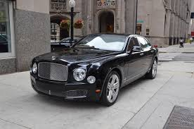bentley mulsanne black interior 2014 bentley mulsanne stock 19909 for sale near chicago il il