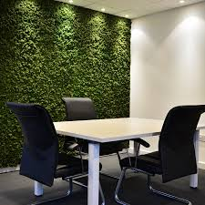 Soundproofing A Bedroom A Preserved Moss Wall Is A Fantastic Feature For A Board Meeting