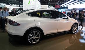 Tesla Minivan The Newest Tesla The Model X Crossover Will Be Going On Sale