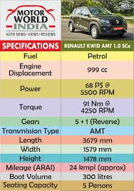 renault kwid specification and price 2017 renault kwid amt easy r road test review