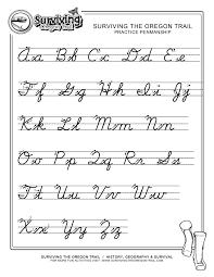 cursive letters worksheet free worksheets