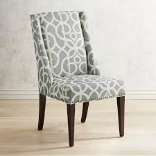 Wingback Dining Chairs Sale Owen Pewter Wingback Dining Chair With Espresso Wood Pier 1 Imports