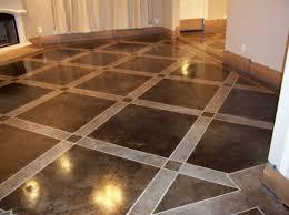 ceramic tile on concrete basement floor home design