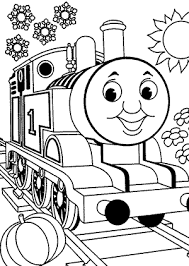 thomas friends coloring pages kids printable free