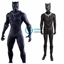 marvel captain america civil war black panther t u0027challa cosplay