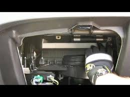 how to replace cabin air filter ford fusion youtube