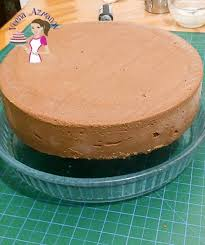 chocolate mousse cake with mirror glaze veena azmanov