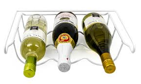 favorite bottle of wine for fridge wine rack refrigerator bottle rack holds 3 bottles of your