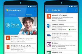 microsoft android apps microsoft s android app helps you find its other android apps