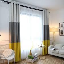 cotton linen blackout curtain