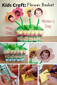 kids craft strawberry basket craft for may munofore