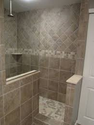 shower designs for bathrooms newly remodeled stand up shower with beautiful tile work
