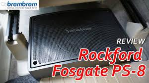 review rockford fosgate ps 8 brembrem com youtube