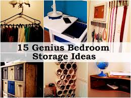 Small Space Bedroom Storage Solutions Bedroom Storage Diy 15 Genius Bedroom Storage Ideas Home Decor