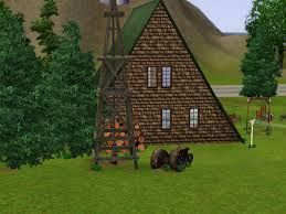 mod the sims a frame country house