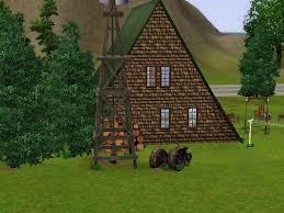 A Frame House Mod The Sims A Frame Country House
