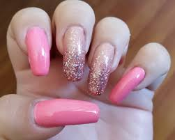 barbie pink and holographic glitter nail art youtube