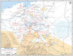 Map Of Germany And Poland by The Destruction Of Poland I Weapons And Warfare