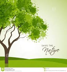 creative tree for save nature stock illustration image 58373438
