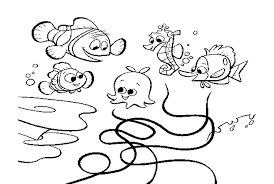 awesome pixar coloring pages finding nemo images printable