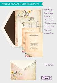 what to put on a wedding invitation what do wedding invitations consist of the knot