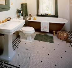 ideas more fashionable hexagon tile bathroom floor u2014 cabinet