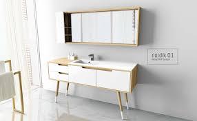 accessoire salle de bain orientale meubles de salle de bain bloc miroir