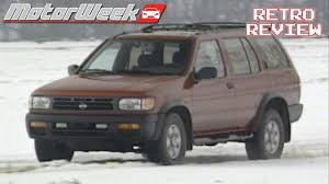 pathfinder nissan 1998 1996 nissan pathfinder 4wd se retro review youtube