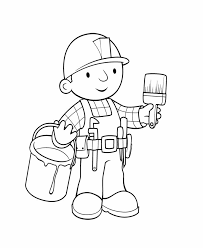 construction tools coloring pages 168 best tool box birthday images on pinterest bob the builder