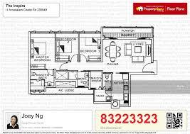 the inspira floor plan the inspira 11 arnasalam chetty road 3 bedrooms 1216 sqft