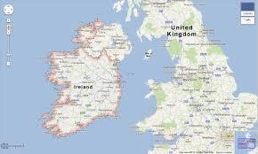 Map Ireland Map Of North Ireland Ireland Map