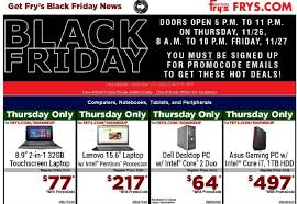 best black friday gaming pc deals 2016 best black friday deals at fry u0027s for 2015 u0026 complete ad scan the