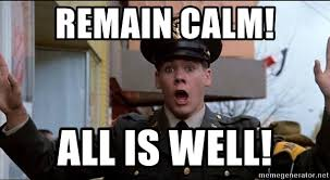 Bacon Meme Generator - remain calm all is well bacon animal meme generator