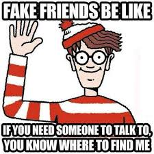 Fake Friend Meme - 20 fake friends memes that are totally spot on sayingimages com
