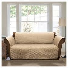 sofa taupe taupe joyce furniture protector sofa slipcover target