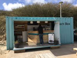 quality container conversion into take away cafe cafes business