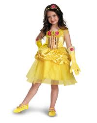 princess costumes for halloween disney princess belle tutu child costume exclusively at spirit