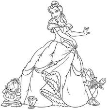 get this princess belle girls coloring pages to print online 46291